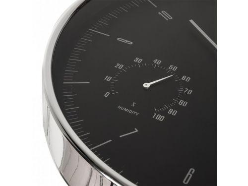 Ukazatel vlhkosti u nástěnných hodin Fiber Mounts CE60