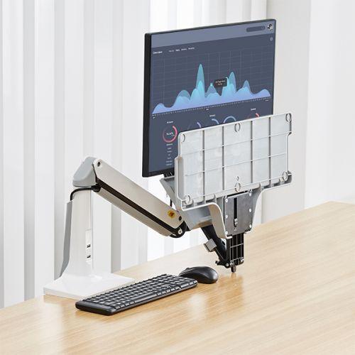 Stolní polohovatelný držák na monitor a klávesnici FC35W