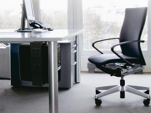 Držák na PC pro umístění pod stůl