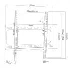 """Arber - Sklopný držák na LCD, LED, Plazma TV 32"""" - 55"""" Fiber Novelty"""