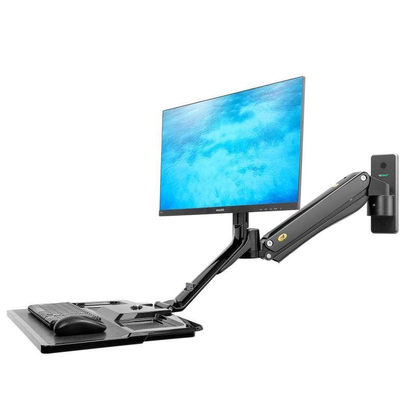 Polohovatelný držák monitoru a klávesnice