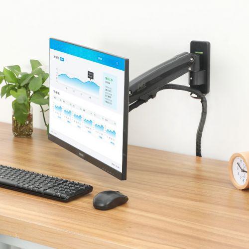 Výškově polohovatelný nástěnný držák na LCD televizi nebo monitor