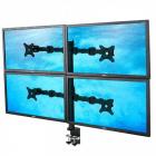 Stolový držák pro 4 LCD monitory ErgoSolid NF44